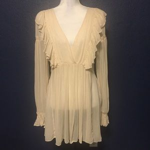 NEW MAEVE ANTHRO BOHO TUNIC COVER UP DRESS